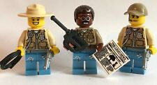 original lego parts 3 x COWBOYS texas rangers + weapon worth to have unit 2