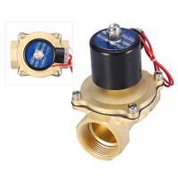 """2 vie DN32 1-1/4"""" Elettrovalvola elettrica NC Normalmente chiuso AC 220V IP65"""