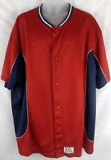 Men's Vintage Ralph Lauren Polo Sport XL Red White & Blue Botton Dwn Sport Shirt