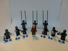 10 NEW LEGO SUPER HEROES VILLAINS MINIFIGURES IRON MAN ULTRON LOT AVENGERS 76029