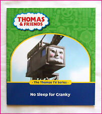 THOMAS & FRIENDS BOOK - No Sleep for Cranky - TRAIN TV Series - 28 pg story NEW