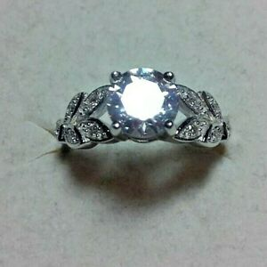 engagement ring 925 sterling silver