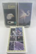 3x VHS - Animals Nature - Adventures in Birdwatching, EAGLES, Canada Goose Story