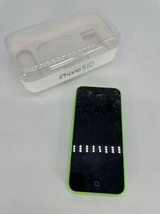 Apple iPhone 5c (A1532) 32GB - Green (Read Desc)