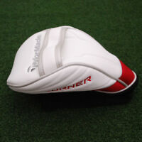TaylorMade Golf Aeroburner Driver Headcover Red&White&Black&Silver - NEW