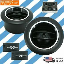 SoundXtreme 1-INCH 300W MAX Car Audio SUPER Loud  SILK DOME TWEETERS 1 PAIR TW15