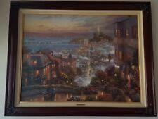 Thomas Kinkade San Francisco, Lombard Street Artist Proof 549/690 Rare