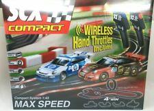 SCX 1/43 Scale Max Speed Wireless Slot Car Set Race Track Porsche P/N C10166x5U0