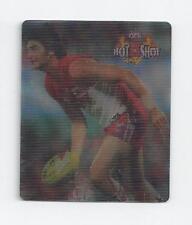 AFL card 2006 HOTSHOTS 3D Smashing TAZO, Brett Kirk South Melbourne Swans VG/EX