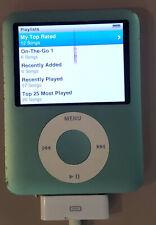 Apple 8GB iPod Nano - 3rd Generation - Coral Blue - A1236 WORKS