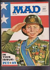 "Vintage ""MAD"" Magazine #140 January 1971 Alfred E Neuman BB"