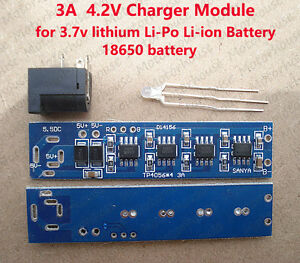 4.2V 3A High Current Lithium Lipo 3.7v Battery Charging Board Charger Module