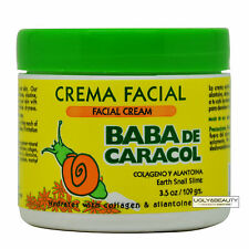 Baba De Caracol Earth Snail Slime Facial Cream 3.5 Oz. / 109 grams Crema Facial