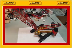 1 50 v MARWIJK Liebherr LR 1300 Crawler Crane - UPGRADED !!!