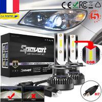 2X Ampoule Mini H7 LED Voiture Feux Phare Lampe Remplacer HID Xénon 6000K Blanc