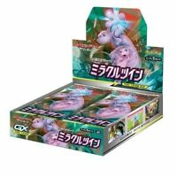Pokemon Card Game Sun & Moon Expansion pack Miracle Twin BOX JAPAN Booster