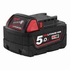 Batterie 18 V-5 Ah-lithium-ion M18 MILWAUKEE Milwaukee d'origine