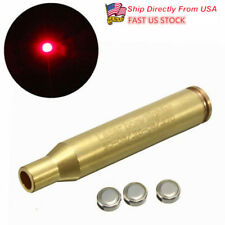 US Red Laser Calibrator 30-06/25-06/270 WIN Brassy Laser Bore Sighter F Hunting