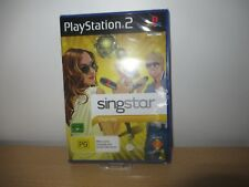 SINGSTAR CHART HITS for the PLAYSTATION 2 new sealed pal version