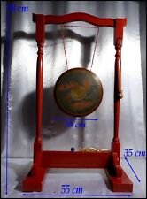 Japon XIXe Famille Tokugawa Shogun Gong Japonais aux Nymphéas vers 1850 Dragon