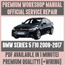 WORKSHOP MANUAL SERVICE & REPAIR GUIDE for BMW 5 SERIES F10 2009-2017 +WIRING