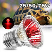 UVA UVB Amphibians Reptiles Bird Snake Light Bulbs Emitter Warming Heating Lamp