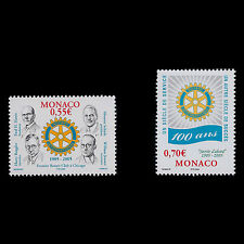 Monaco 2005 - 100th Anniversary of the Rotary International - Sc 2368/9 MNH