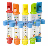 Pack of 5 Children Kid's Bath Time Water Flutes Musical Toy Fun Whistle Game