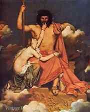 Jupiter and Thetis by Jean-Auguste Ingres - Art Mythology Gods 8x10 Print 0548