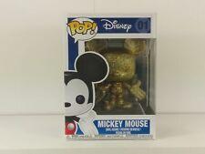 Mickey Mouse Gold Glitter Funko Pop Vinyl Figure Diamond Collection Disney