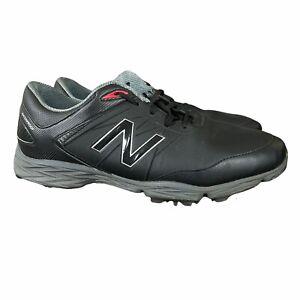New Balance Striker Mens 14 D Standard Black & Red Golf Shoes NBG2005