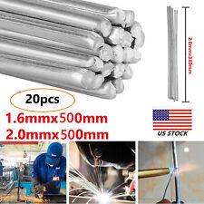 20X Durafix Aluminium Welding Rod Brazing Soldering Low Temperature 1.6/2mm New