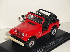 JEEP CJ-7 LAREDO 1982 (1/43 IXO-ALTAYA)