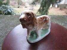"""Vintage Porcelain Dog- Cocker Spaniel- Japan ~ 2 5/8"""" H"""