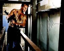 Bruce Willis Autographed 8 x 10 Die Hard Photograph Officer John McClane COA