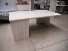 Tavolino da salotto in marmo di Carrara anni 70 - Italian marble coffee table