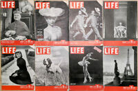 Lot of 16 1946 LIFE Mag - Jan Clayton Hope Crosby Lincoln McGuire Ice Skater