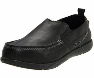 Crocs Men's Harborline Loafer, Black - Size M7