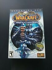 World of Warcraft: Wrath of the Lich King Expansion Set PC, 2008 with Box