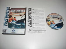 Silent Hunter 4 IV Wolves of the Pacific PC DVD ROM EXC Sub SIM Sous-marin