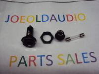Harman Kardon 630 Original Power Fuse Holder w/3 Amp Fuse Tested Parting Out 630