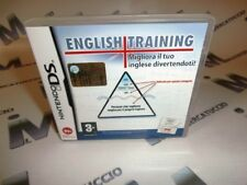 GIOCO NINTENDO DS, ENGLISH TRAINING, USATO