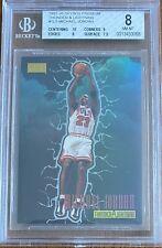 1997 Skybox Premium Thunder & Lightning Michael Jordan #TL5 BGS 8 NM-MT Low Pop