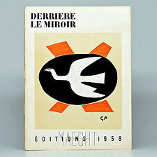 Derriere le Miroir No. 112- Editions Maeght 1958 - First Edition