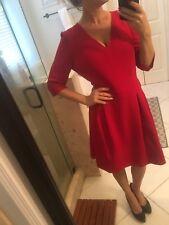 Ralph Lauren Textured Chaps Red Xl Christmas  Dress Size 16 New