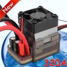 320A 7.2V-16V High Voltage ESC Brushed Speed Controller for RC Car Truck Boat E