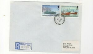 1997 BRITISH ANTARCTIC - REGISTERED HALLEY FDC FROM COLLECTION L3