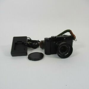 Fujifilm FinePix X10 Camera X Series 12MP Digital Black Fujinon Aspherical Lens