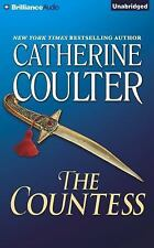 THE COUNTESS unabridged audio book on CD by CATHERINE COULTER - Brand New!