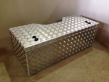 Large Alloy storage tool box quad agricultural quad rack